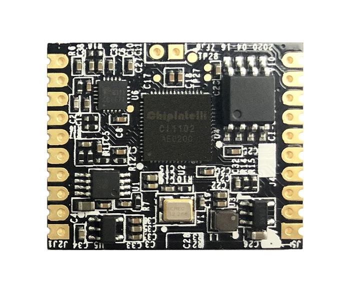 单麦离线智能语音模块(CI-B02GS01S-H)