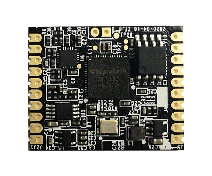 单麦离线智能语音模块(CI-B03GS01S-H)