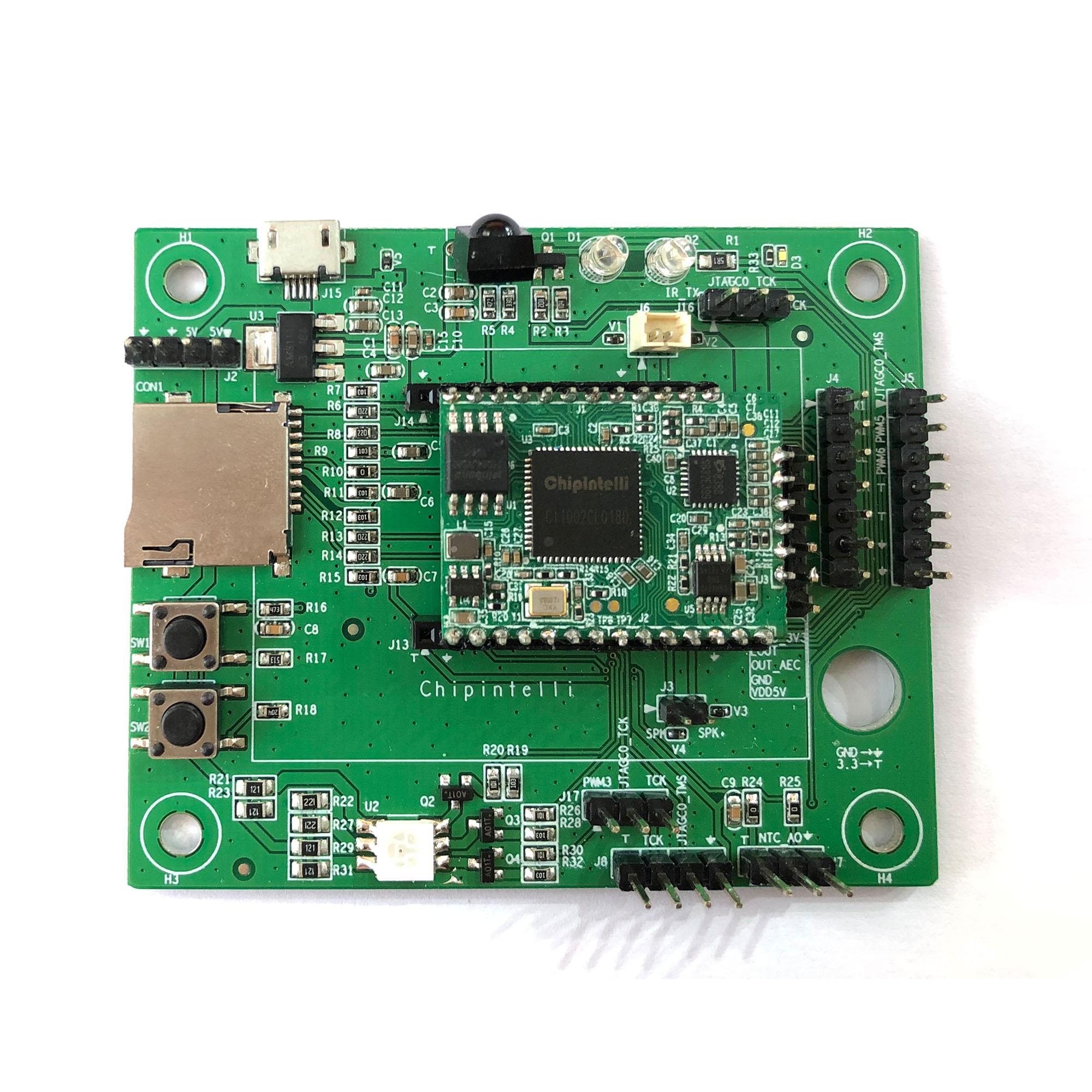 单麦智能语音开发板(CI1002C1CS01)